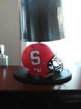 Stanford helmet lamp in Fort Lewis, Washington