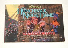Rare OOP Disney's The Hunchback Of Notre Dame Postcard Book 1996 1st Edition in Plainfield, Illinois