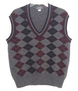 Lord & Taylor 100% Pure New Wool Argyle Sweater Vest Mens XL in Plainfield, Illinois