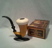 Vintage Avon 1974 Calabash Pipe & Stand In Original Sherlock Holmes Box in Morris, Illinois