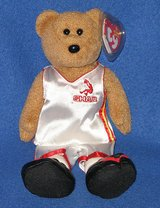 "Brand New ~ TY Beanie Bear Shaq O'Neal Basketball Dressed 10"" Tall 2006 Plush Shaq Bear in Chicago, Illinois"