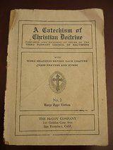 a catechism of christian doctrine-no. 2 copyright 1923-large type edition in Yucca Valley, California