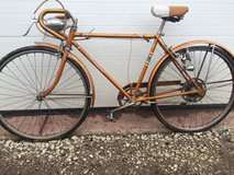 Antique Schwinn Copper/Gold bike in Chicago, Illinois