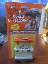 The Dukes of Hazzard 1997 Ertll  diecast 3 vehicle set with 3 2005 cast autographs in Byron, Georgia