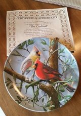 Plate - Cardinal - Certificate of Authenticity in Lockport, Illinois