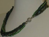 "NEW Park Lane ""IVY"" NECKLACE Emerald Green w/ Crystals in Plainfield, Illinois"