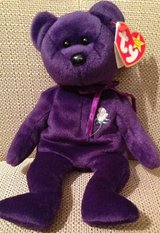 Princess Diana Di Ty Beanie Baby Bear in Naperville, Illinois
