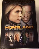 Homeland DVD Complete Season 2 2nd 4Disc Set Claire Danes Damian Lewis in Naperville, Illinois
