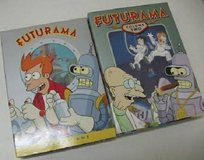 New Futurama DVD TV Series Volume 1 and Volume 2, 7 disc set in Naperville, Illinois