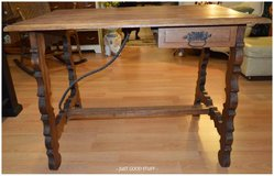 ANTIQUE DESK WITH SINGLE DRAWER ~ KITCHEN ISLAND in The Woodlands, Texas
