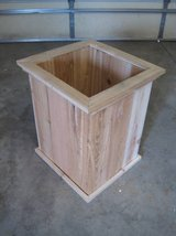 TALL CEDAR PLANTER Deck Box Patio Pot in Plainfield, Illinois