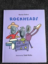 Rockheads Hard Cover Childrens Book w Dust Jacket Grade # Ages 4 - 7 Math & Counting in Oswego, Illinois