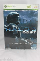 Halo 3 ODST Prima Official Game Strategy Guide Manual Xbox 360 in Morris, Illinois