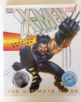 X-Men The Ultimate Guide Updated Edition Marvel DK Hardcover in Joliet, Illinois