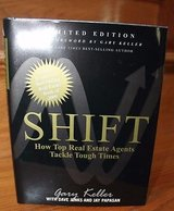 Shift: How Top Real Estate Agents Tackle Tough Times by Gary Keller - NEW, Limited Edition in Chicago, Illinois