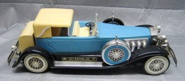 Jim Beam Decanter - 1934 DUESENBERG Model J PHAETON - Light Blue in Joliet, Illinois