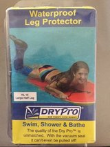 NEW drypro waterproof half leg cast cover large hl-15 new * in Kingwood, Texas