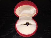 14 karat ladies garnet ring. 2.51g. very beautiful! in 29 Palms, California
