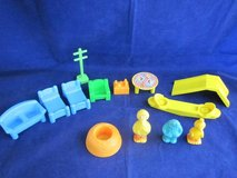 CBS TOYS 1984 Muppets Sesame Street Town Accessories VINTAGE in Naperville, Illinois