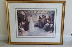 Picture - Gold Framed Wedding Scene - From Bombay and Co. in Chicago, Illinois