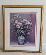 Picture - Gold Framed Floral Arrangement - From Bombay and Co. in Westmont, Illinois