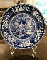 Blue and White Plate - Transferware in Orland Park, Illinois