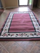 Flowered Area Rug in Schaumburg, Illinois