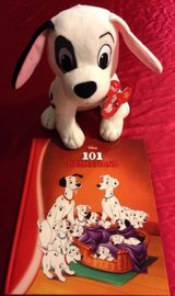 Disney 101 Dalmatians Hard Cover Book Disney Khols Cares ( Book Only ) in Yorkville, Illinois