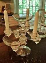 Candelabra /Centerpiece - 7 piece set - Cambridge Glass in Orland Park, Illinois