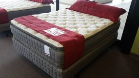 "OVERSTOCK! 17"" DOUBLE-SIDED Pillow Top Mattress! FREE Delivery in Aurora, Illinois"