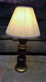 "Wood Table Lamp $5 ""The Back Forty"", Adel in Moody AFB, Georgia"