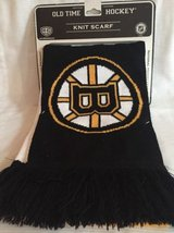 Boston Bruins NHL Knit Scarf Old Time Hockey in Aurora, Illinois