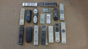 20+ Remotes TV DVD Stereo Harmony Sony LG RCA in Elgin, Illinois