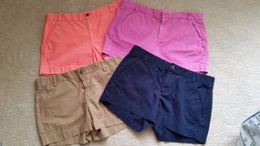 GAP  Shorts - Size 6 - Beige, Navy, Pink or Salmon in Orland Park, Illinois