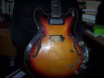 VOX Cheetah Electric hollowbody project guitar in Travis AFB, California