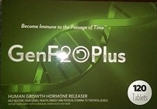 NEW genf20plus - 120 tablets NEW HUMAN GROWTH HORMONE RELEASER in Kingwood, Texas