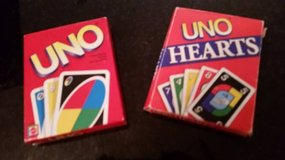 Uno Card Game and Uno Hearts Card Game in Naperville, Illinois
