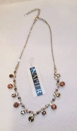 Napier Crystal Necklace - Golden Brown Sparkly Crystals in Glendale Heights, Illinois