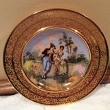 Vintage--Porcelain Bowl--24Kt Gold Encrusted - Germany. 1930s in Plainfield, Illinois