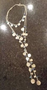 Necklace - Multi Strand Gold and Crystals in Chicago, Illinois