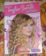 Taylor Swift HER SONG softcover BOOK by Riley Brooks PHOTOS Scholastic in Plainfield, Illinois