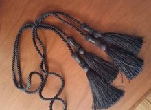 Double Tassels - Black in Westmont, Illinois