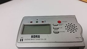 KORG GA-30 GUITAR/BASS DIGITAL TUNER in Naperville, Illinois