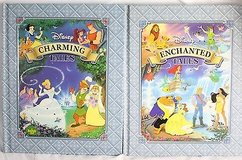 Disney Enchanted & Charming Tales 2 Hardcover Books 16 Stories in Chicago, Illinois