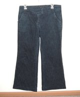 New York & Company Wide Leg Flare Jeans Womens 6 x 29 Stretch Flap Pockets in Plainfield, Illinois