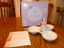 2003 President's Club Holiday Gift Collection Avon Snowlady dish. in Elgin, Illinois