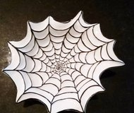 Halloween Spider Web Dish in Orland Park, Illinois