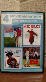 4 Movie Marathon: Family Comedy Collection (Dudley Do-Right / Sgt. Bil in Fort Campbell, Kentucky