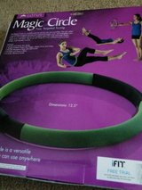 new! lotus magic circle ring sculpts tones entire body exercise chart included! in Aurora, Illinois