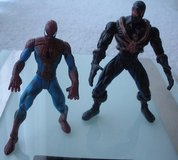 2 -marvel spiderman action figures, mint.  no accessories. in Naperville, Illinois